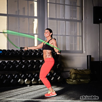 Side Jump Rope