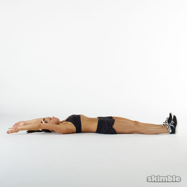 How to do: Hollow Body Holds - Step 1