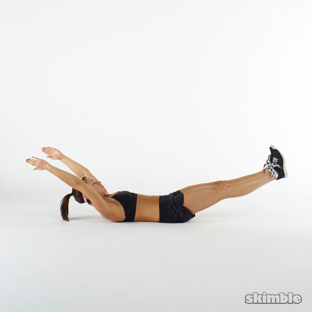Hollow Body Holds - Exercise How-to - Workout Trainer by ...