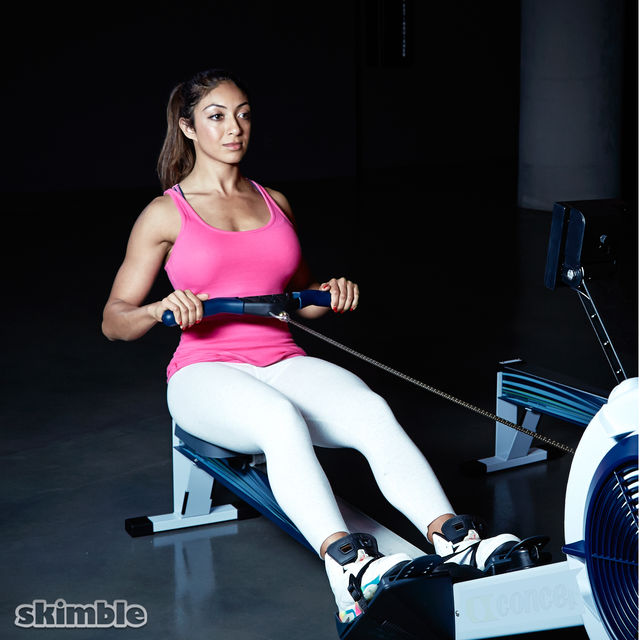 Bike And Rower Cardio Session