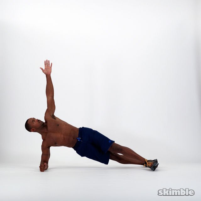 How to do: Half Side Planks - Step 1