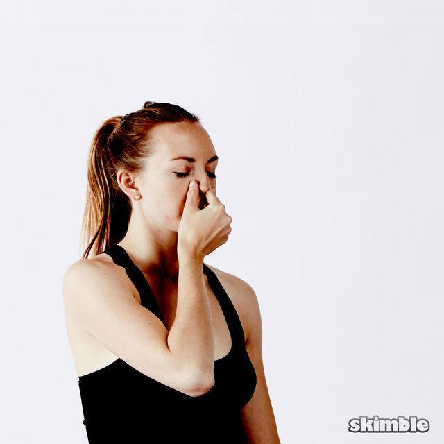 How to do: Alternate Nostril Breathing - Step 6