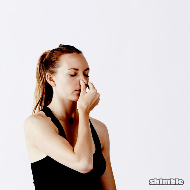 How to do: Alternate Nostril Breathing - Step 8