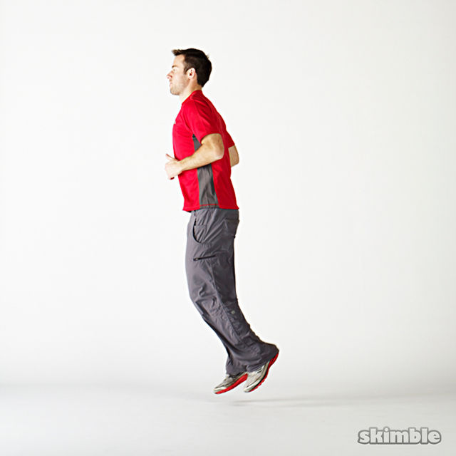 butt kickers exercise howto workout trainer by skimble