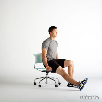 Seated Hip Flexor Lifts
