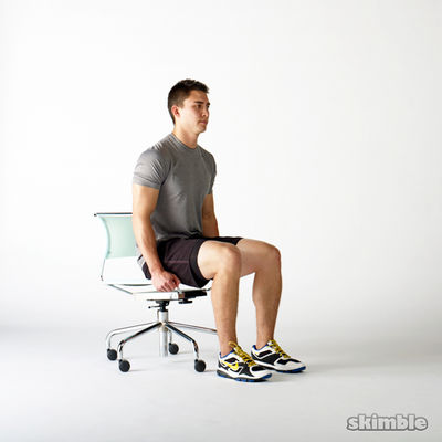 Seated Knee Raises