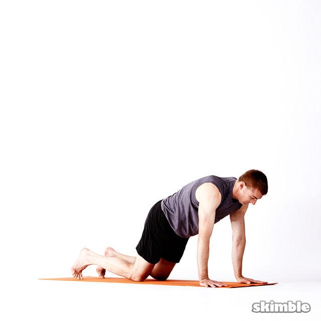 How to do: Modified Chaturanga - Step 2