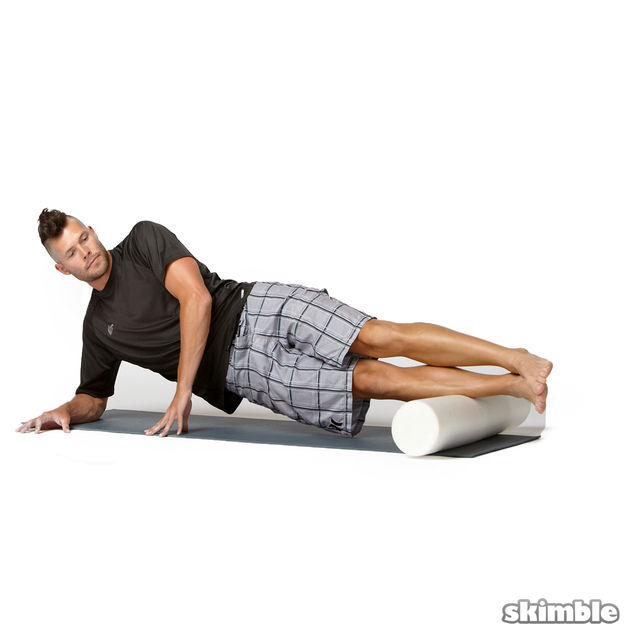 How to do: Advanced Right Peroneal Rolls - Step 1