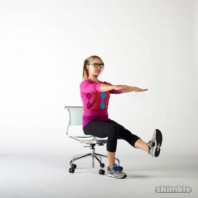 Seated Single Leg Stand Ups
