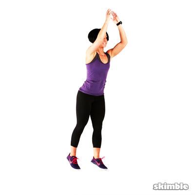 Back Lunge Kick Jump Switch