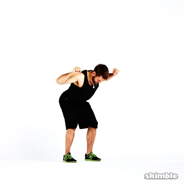 How to do: Boxer Fist Reaches - Step 3