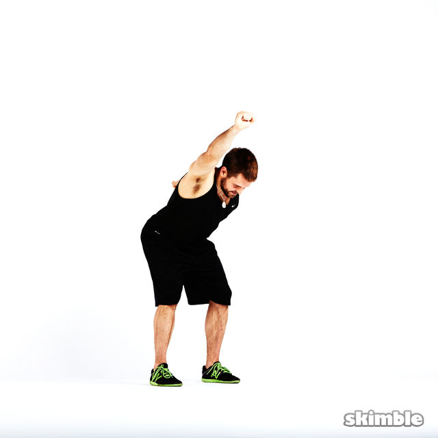 How to do: Boxer Fist Reaches - Step 2