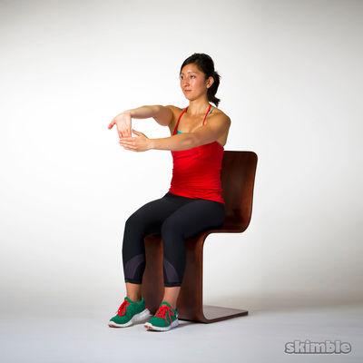 Underhand Wrist Flexor Stretches