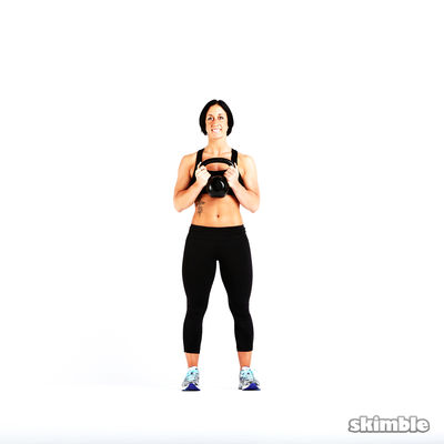 Kettlebell Offset Press