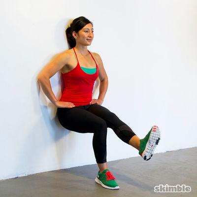 Wall Sit or Slack Challenge