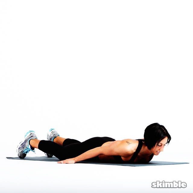 Prone Cobra - Exercise How-to - Workout Trainer by Skimble