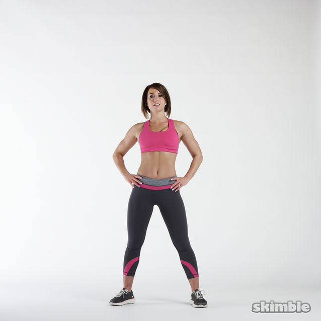 How to do: Alternating Side Reaches - Step 2