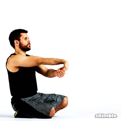 Underhand Wrist Flexor Stretches