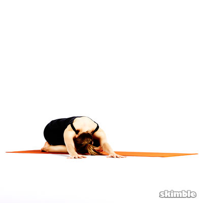 Child's Pose with Side Reaches