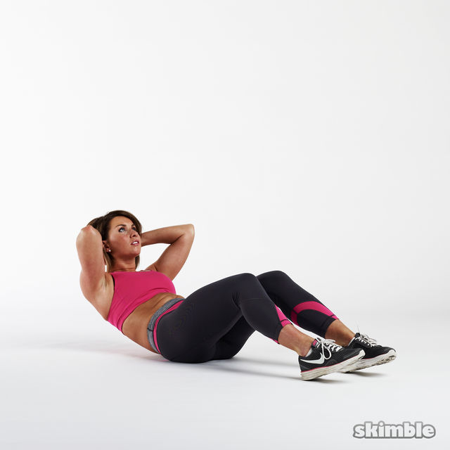 Sit-Ups - Exercise How-to - Workout Trainer by Skimble