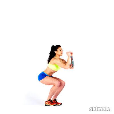 2 Min Squat Challenge