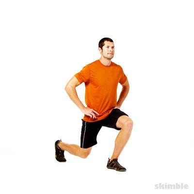 Dynamic Leg Warm Up