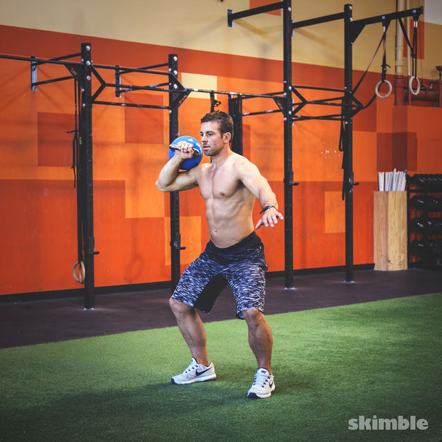 Right Side Kettlebell Clean