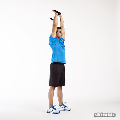 One Hand Tricep Extensions X10 Each Arm