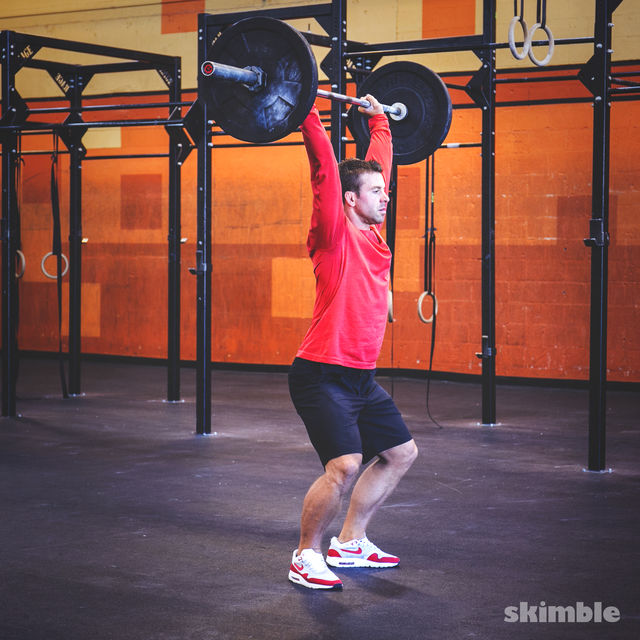 How to do: Clean and Jerk - Step 10