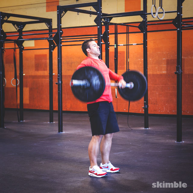 How to do: Clean and Jerk - Step 8