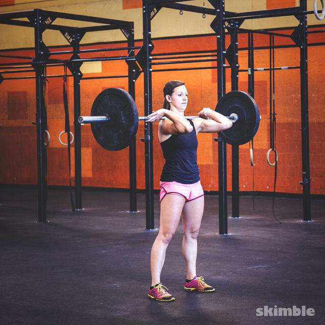 How to do: Barbell Cleans - Step 4