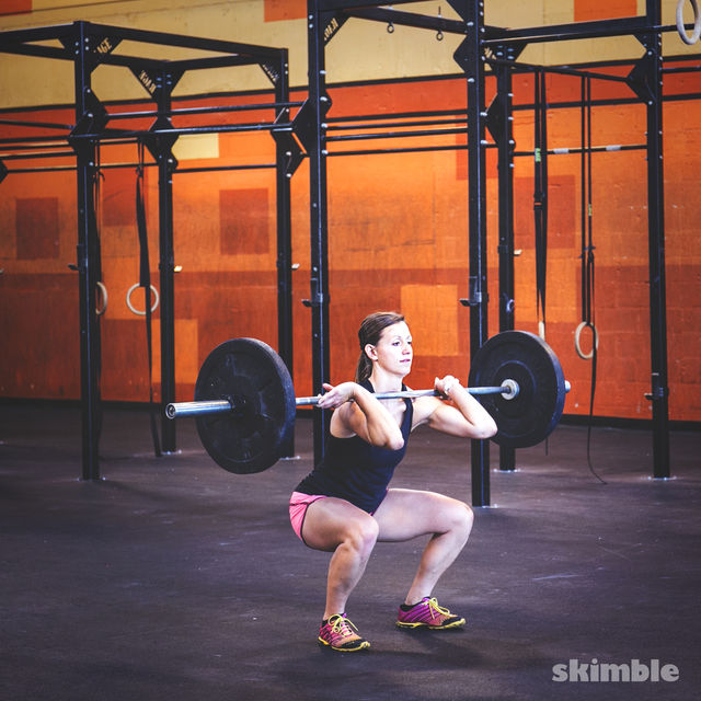 How to do: Barbell Cleans - Step 3