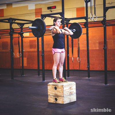Barbell Step Ups