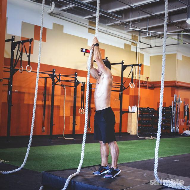 How to do: Rope Climb - Step 1