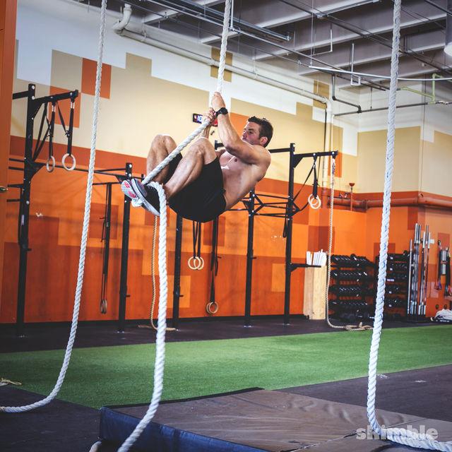 How to do: Rope Climb - Step 2