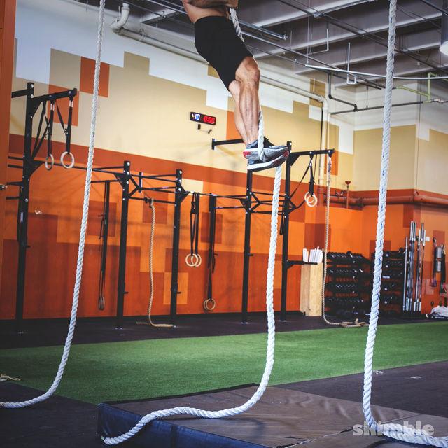 How to do: Rope Climb - Step 4