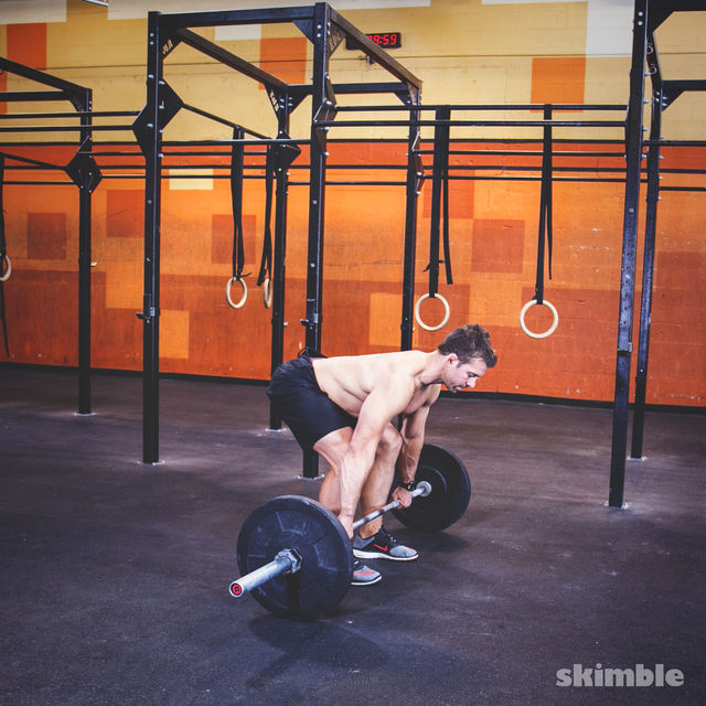 How to do: Barbell Deadlifts - Step 1