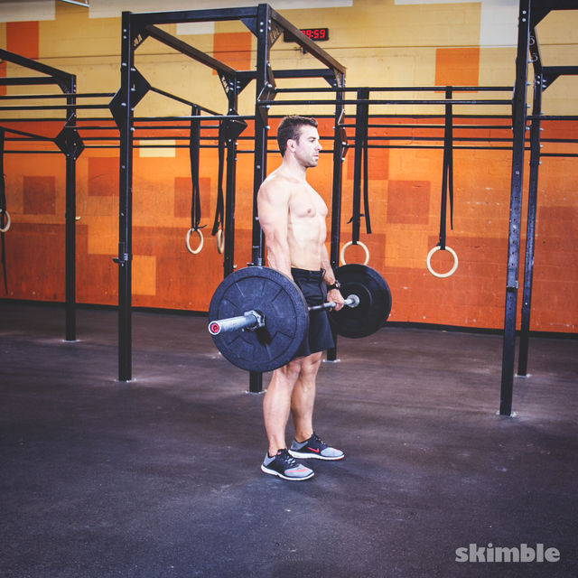 How to do: Barbell Deadlifts - Step 3