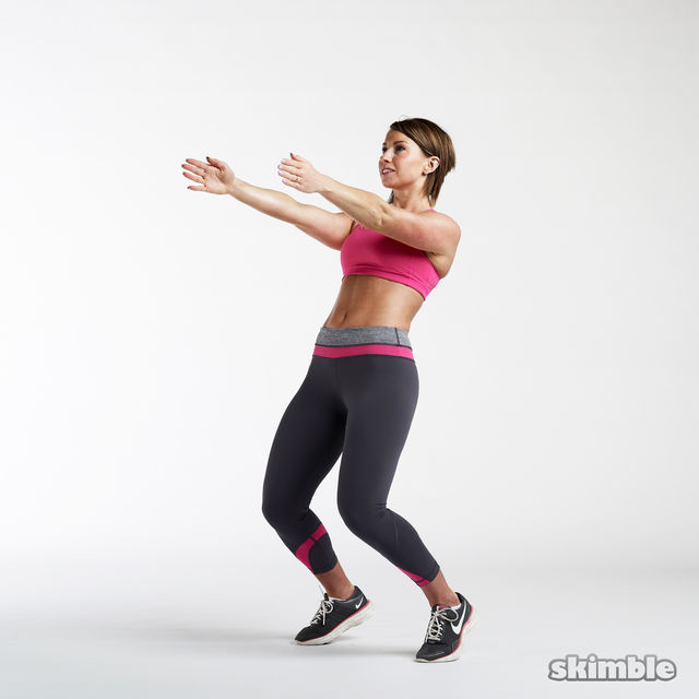 Sissy Squats - Exercise How-to - Workout Trainer by Skimble