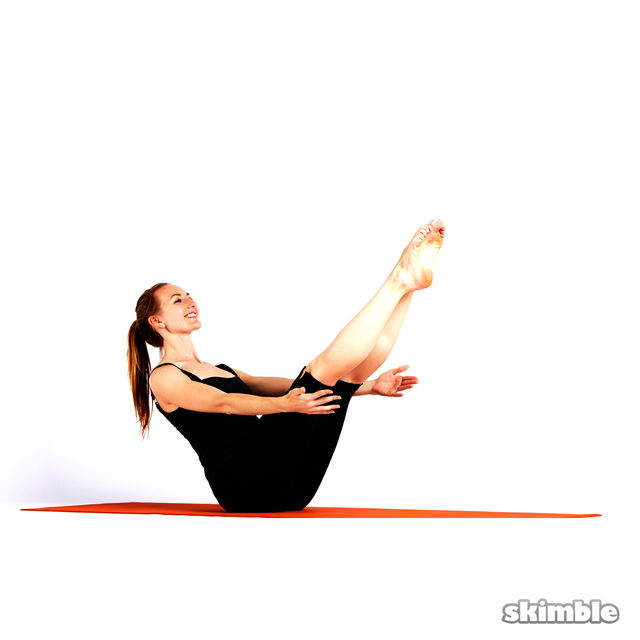 How to do: Boat Pose - Step 2