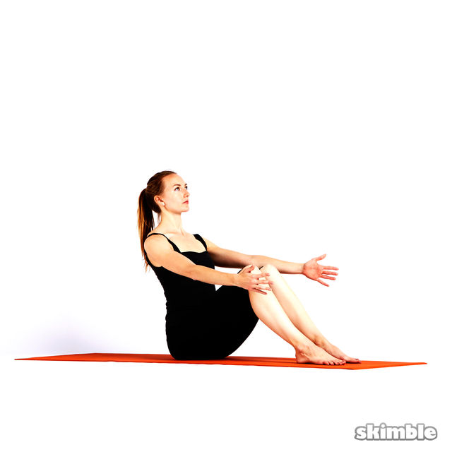 How to do: Boat Pose - Step 1
