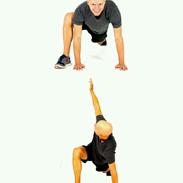 Spiderman Lunge with T-Spine Rotation - Exercise How-to ...