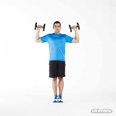 Lunge to Shoulder Press