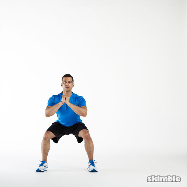 Side Squats - Exercise How-to - Workout Trainer by Skimble