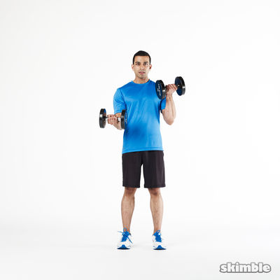Concentrated Left Bicep Curls