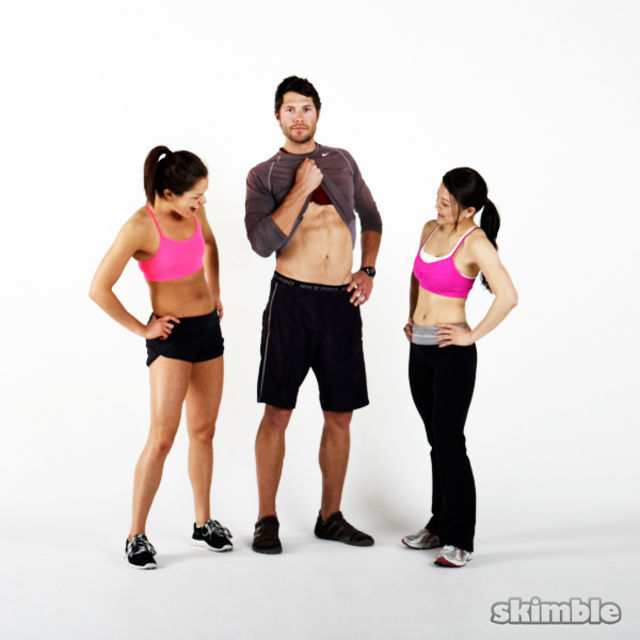 6 Pack Toned Abs