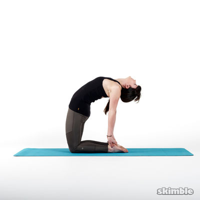Backbend Camel Pose