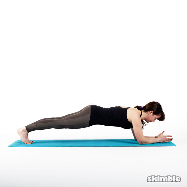 How to do: Elbow Plank - Step 3
