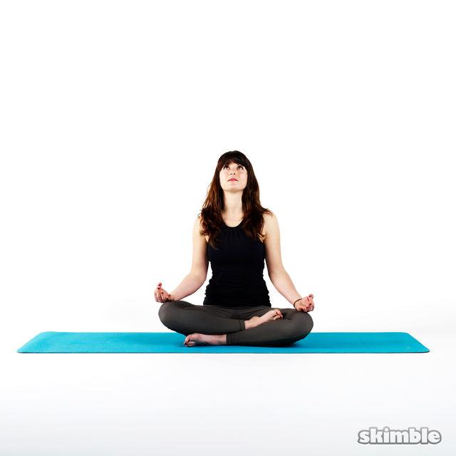How to do: Easy Pose Meditation - Step 1
