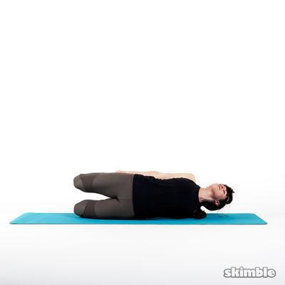 Sideways Bow Pose